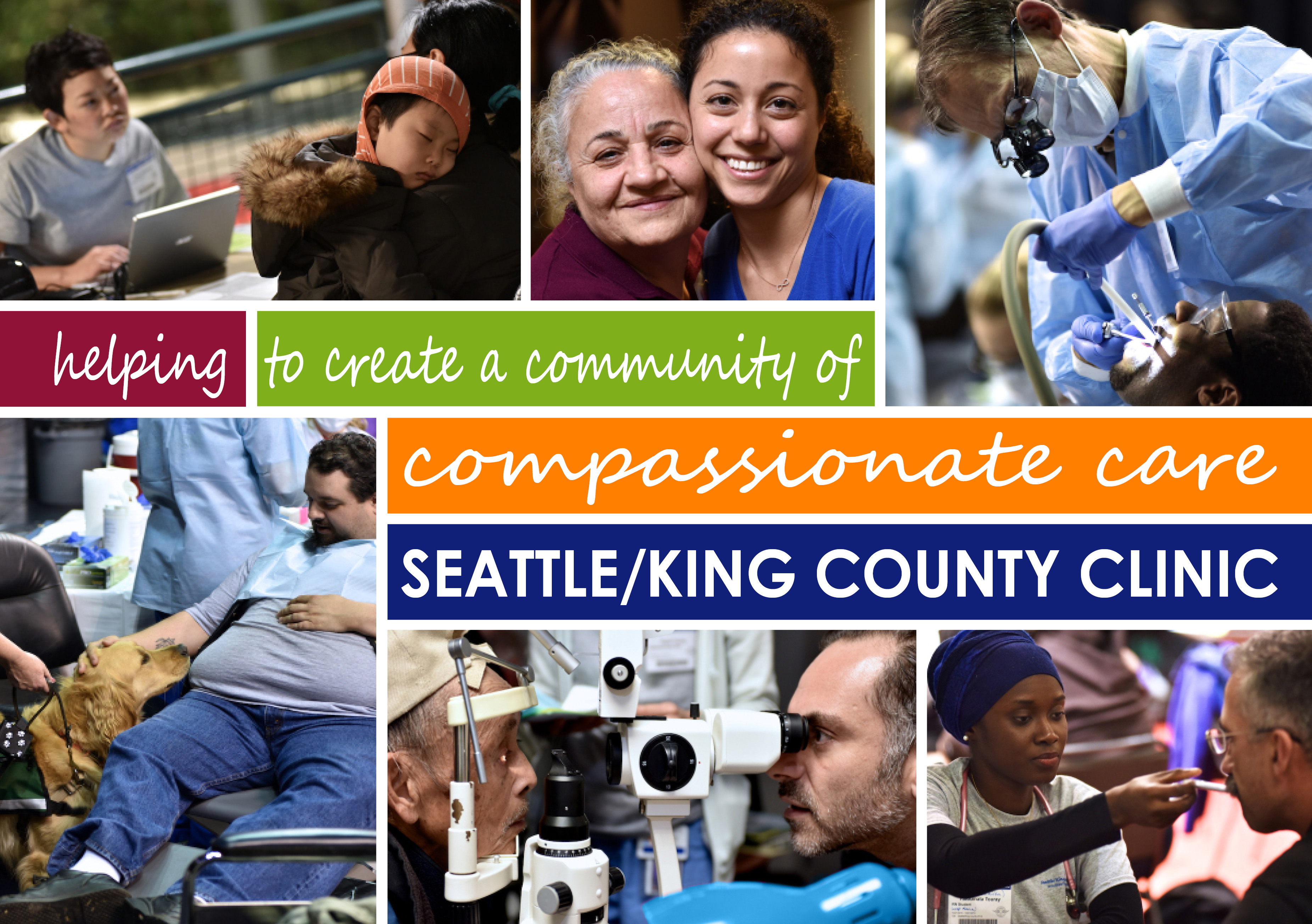 SeattleKing County Clinic to Offer Free Dental, Vision, Medical Services at Four-Day Health Clinic